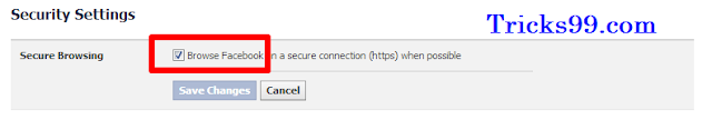 Facebook- Security Settings-enable-Secure-Browsing-facebook-account