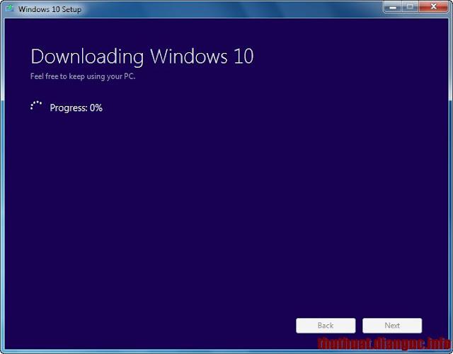 Download Win 10 Full ISO bản chính thức từ Microsoft bằng công cụ MediaCreationTool