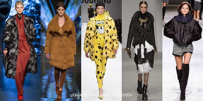 Fall Winter 2014 - 2015 Women's Duvet Coats Fashion Trends