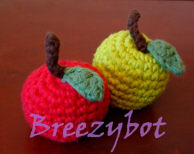 Breezybot Free Pattern Breezybot Apple Amigurumi