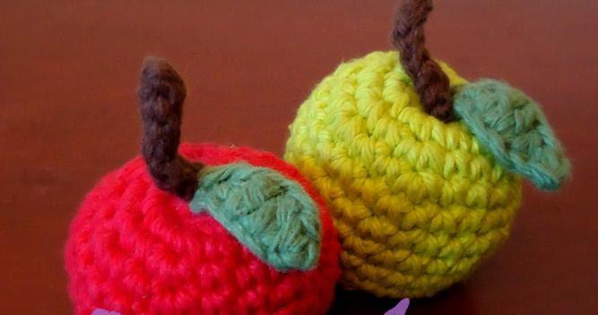 Amigurumi Tight Stitch : Breezybot: FREE PATTERN Breezybot Apple Amigurumi