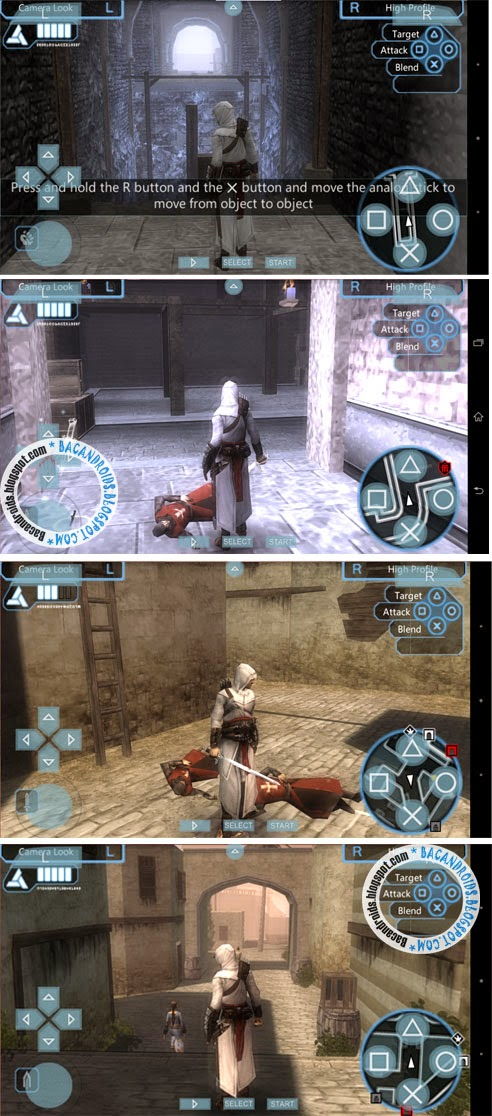 download Game Assassin's Creed untuk emulator PPSSPP Android