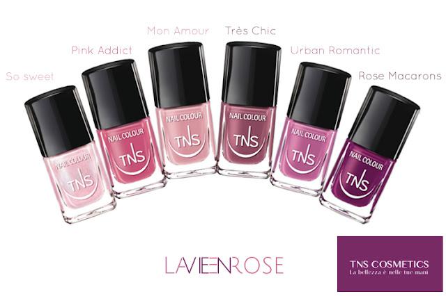 La Vie en Rose - TNS Cosmetics