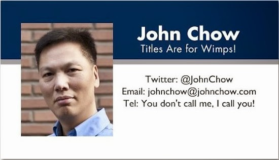 Best Business Cards Ideas For Websites johnchow