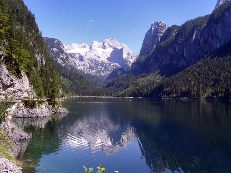 Dachstein West Gosau Lake Gosausee
