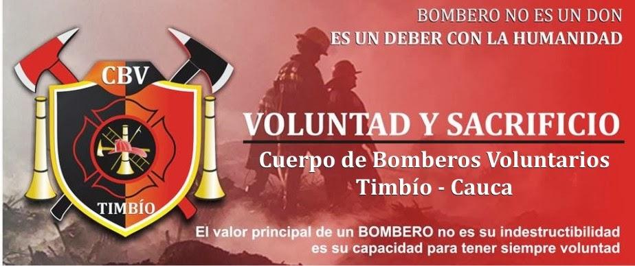 BOMBEROS TIMBIO CAUCA