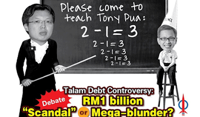 Chua Tee Yong wants to teach Tony Pua 2-1=3