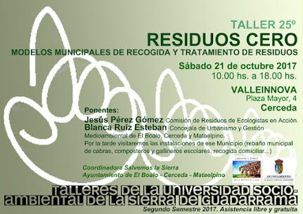 Nuevo Taller de la Universidad Socioambiental de la Sierra