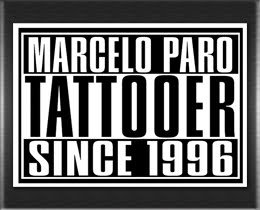 Patrocinio - Marcelo Paro Tattoo