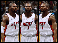 NBA 2K13 Chris Bosh Short Hair Update
