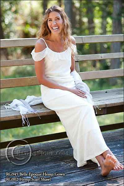 http://www.rawganique.com/Womens/organic-hemp-knit-wedding-dress.htm