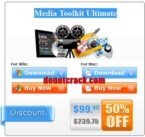 get 50% discount Media Toolkit Ultimate