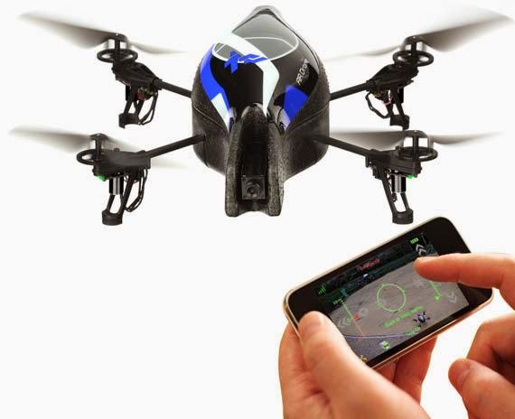 La moda de los drones