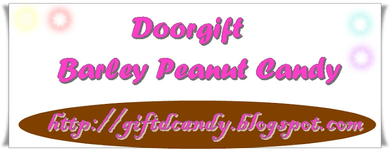 Doorgift ~ Barley Peanut Candy