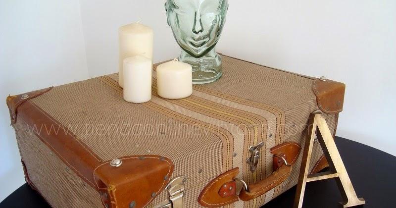 Kp tienda vintage online maletas antiguas ref m57 - Comprar maletas antiguas decoracion ...