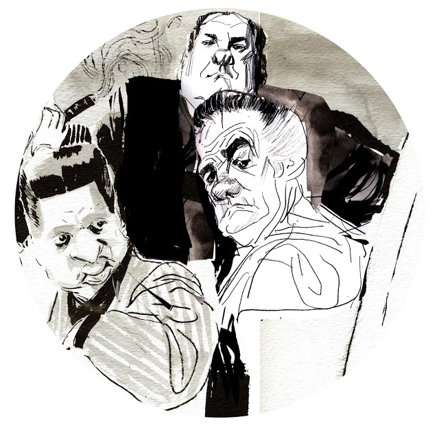 This Wonderful Caricature Of James Gandolfini By Fred Sebastian