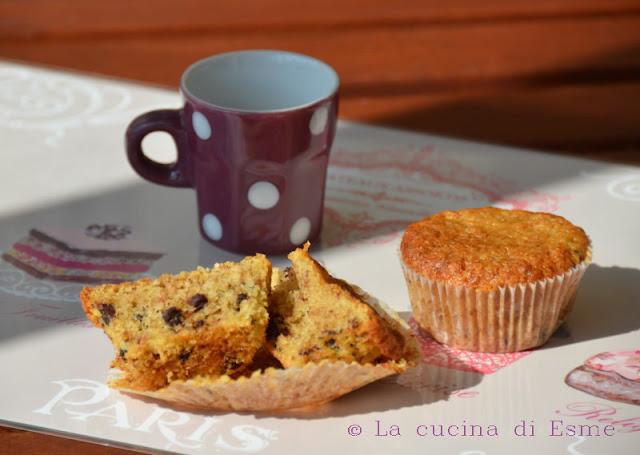 muffin alla stracciatella ...  e un sorriso!