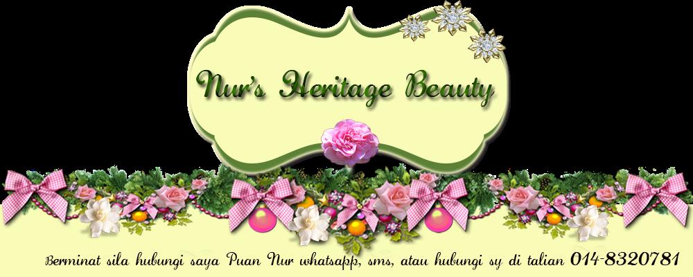 nur's heritage beauty