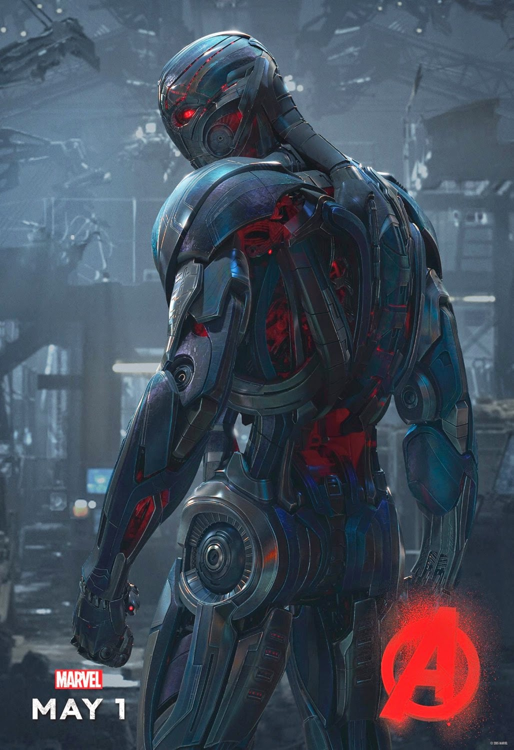 Marvel's Avengers: Age of Ultron Character Movie Poster Set - James Spader as Ultron
