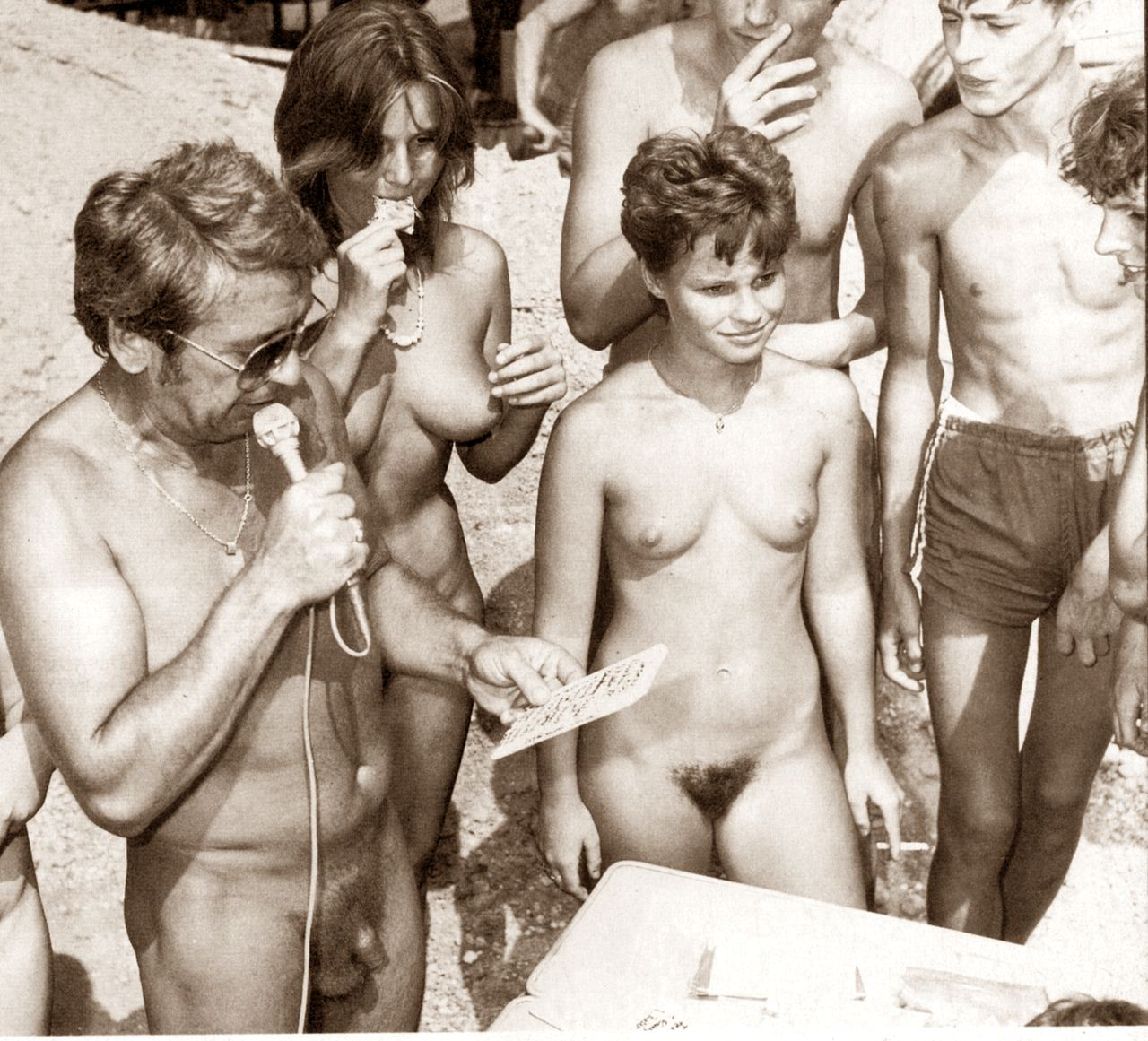 Milf 70s nudist gallery she
