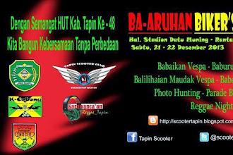 Event Vespa Desember 2013 Kalimantan Selatan