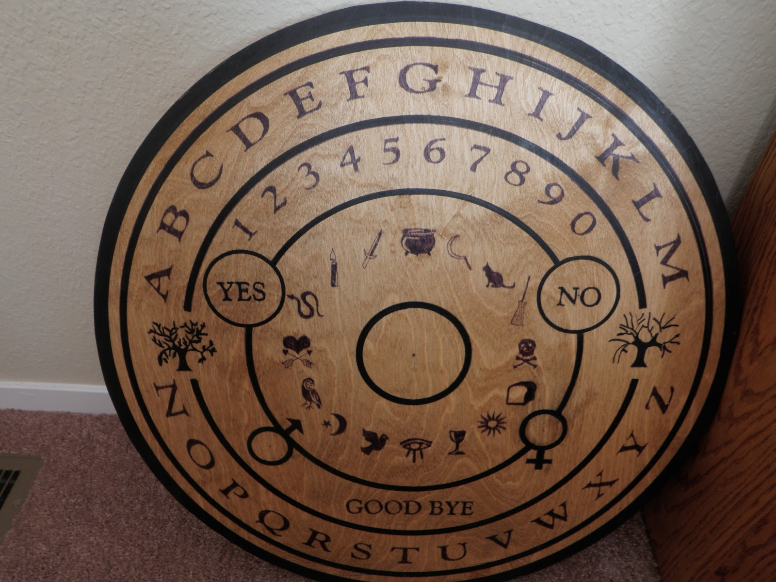 Ouija Board Coffee Table The Dismal Trader New Surroundings