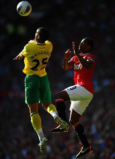 Evra Manchester United vs Norwich City