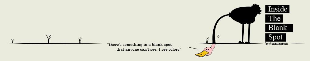 inside the blank spot