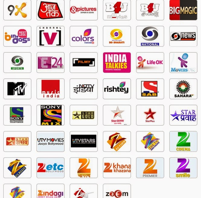 india tv channels all indian tv channel list