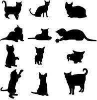 коты шаблон