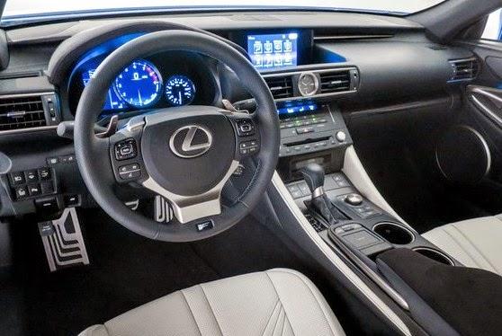 2016 Lexus RC 350 interior