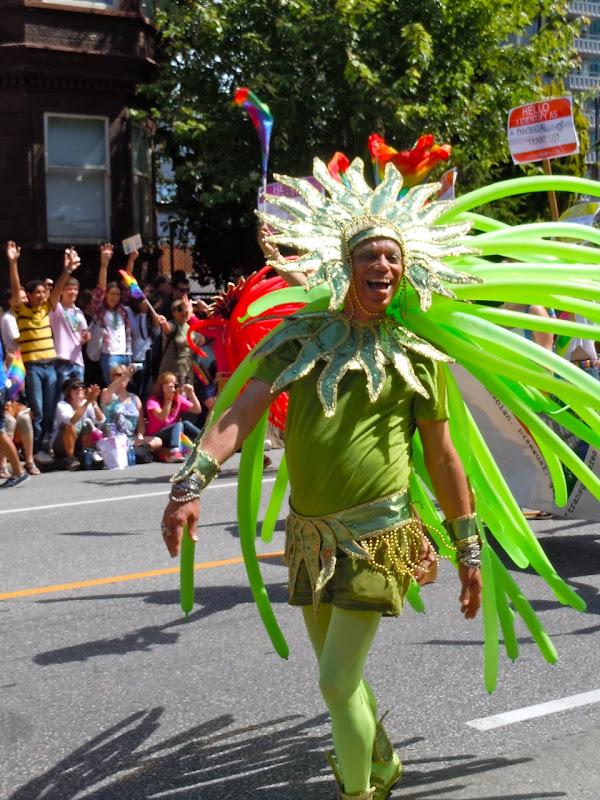 Vancouver Pride Parade costume