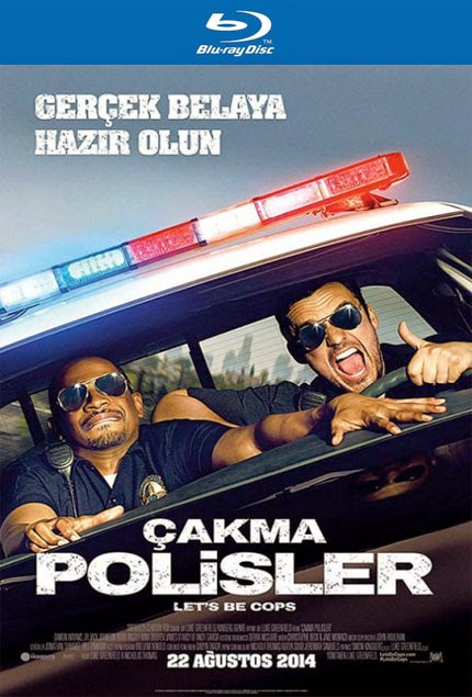 Çakma Polisler - Let's Be Cops - bluray poster