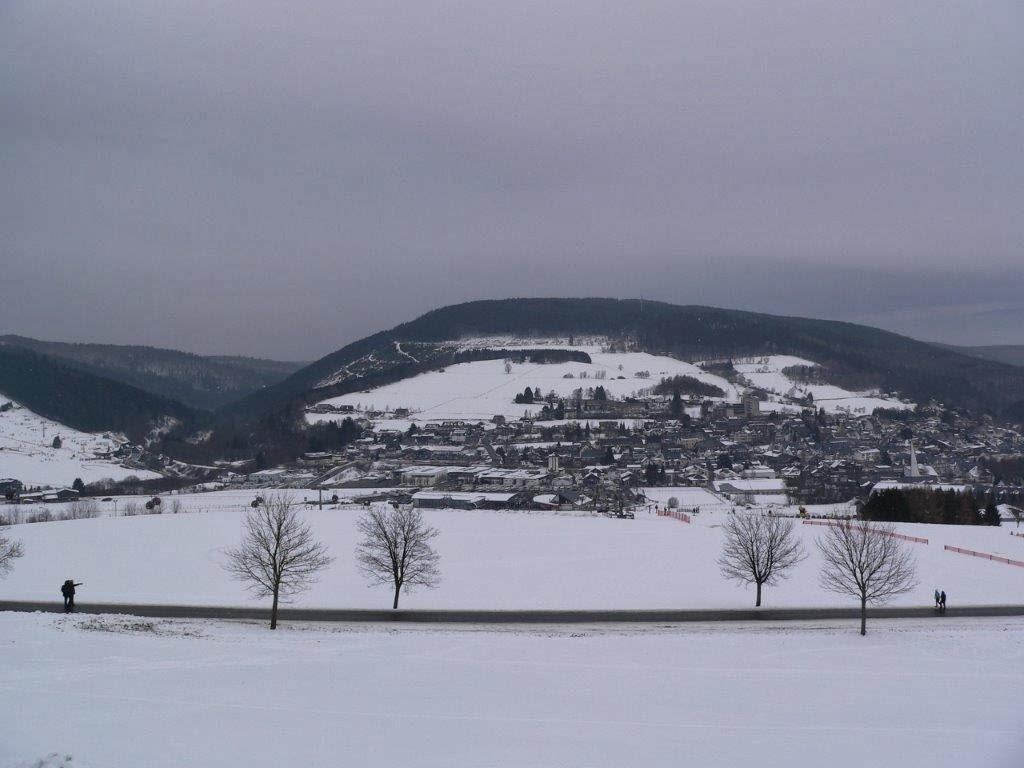 Schnee Aussicht