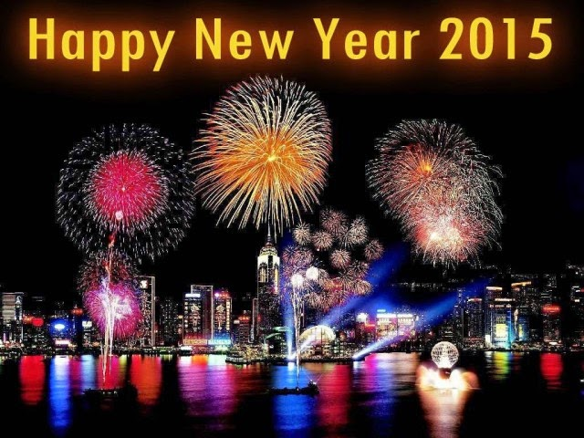 Happy New Year 2015 Best Wishes from Hong Kong
