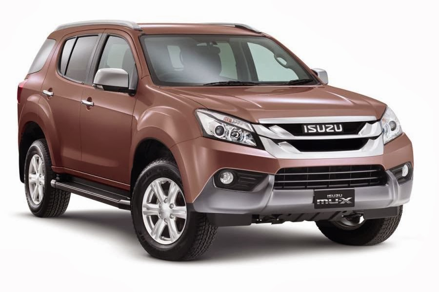 charges) for the Isuzu MU-X range from A$40,500 to A$53,500
