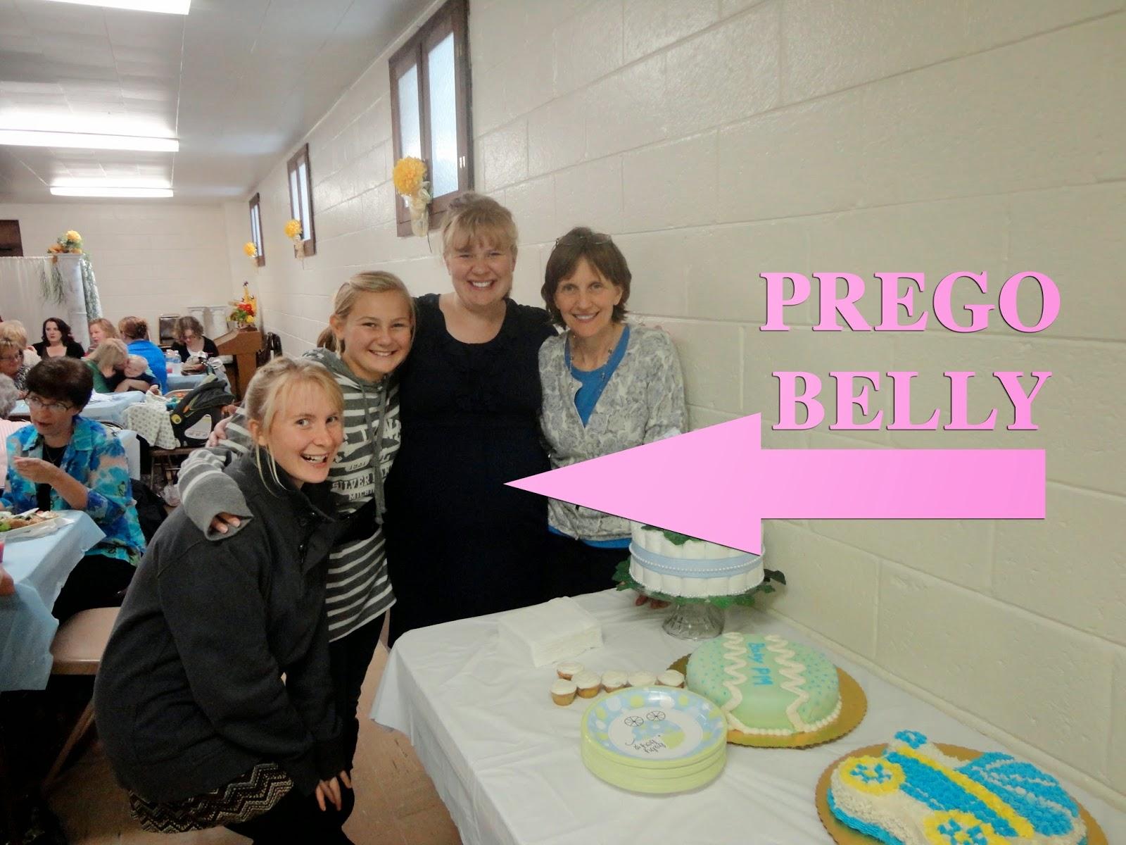 preggo belly