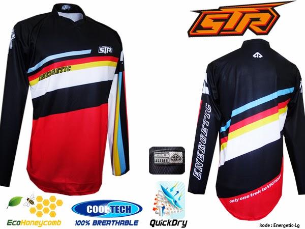 Jersey sepeda cooltech, jersey sepeda team, baju seragam sepeda,