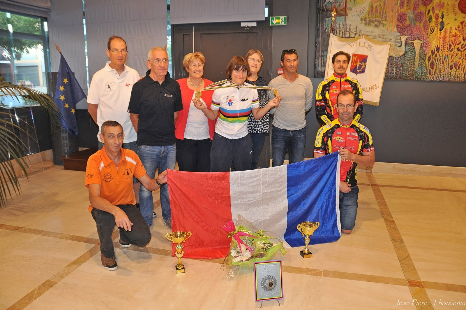 Aurélie Minodier; Double championne du Monde en sport adapté sur route; bravo !