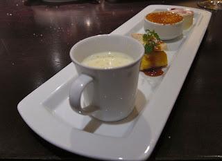 Dessert sampler at Parcel 104
