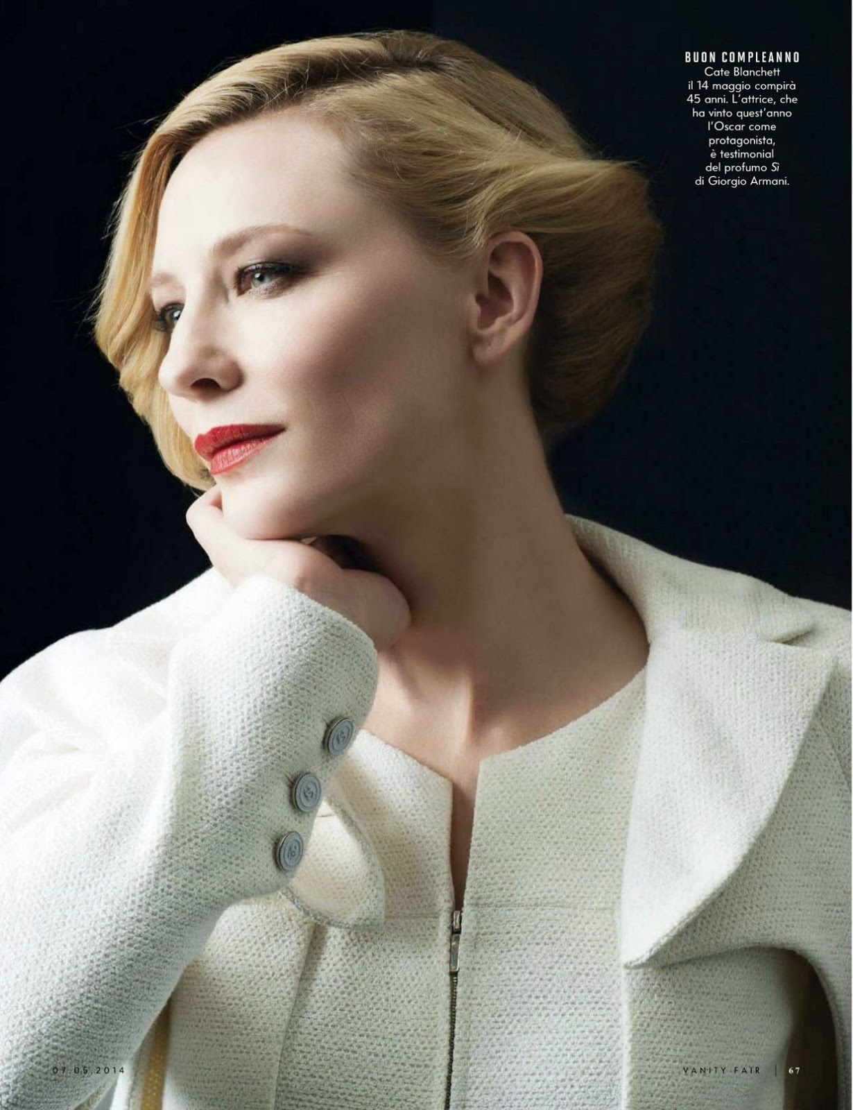Magazines - The Charmer Pages : Cate Blanchett For Vanity ... Cate Blanchett Magazine