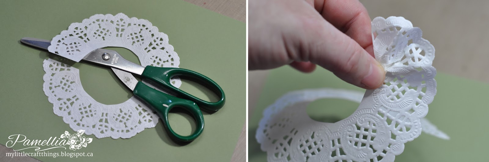 My Little Craft Things Doily Flower Tutorial A Beautiful Gift