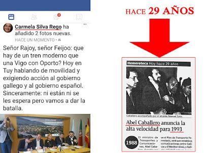 Mentres o pp traballa cada día con rigor para que Galicia teña as mellores comunicacións, outros..