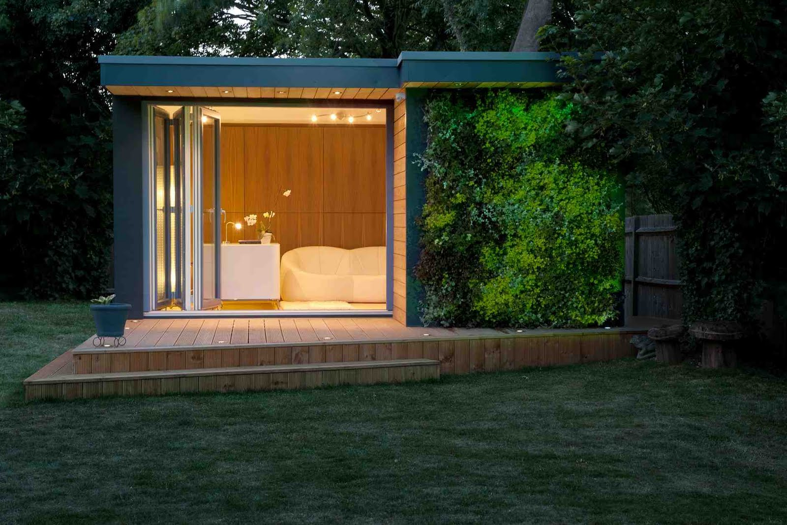 Shedworking nuts and bolts fitting out your garden office for Garden office interiors