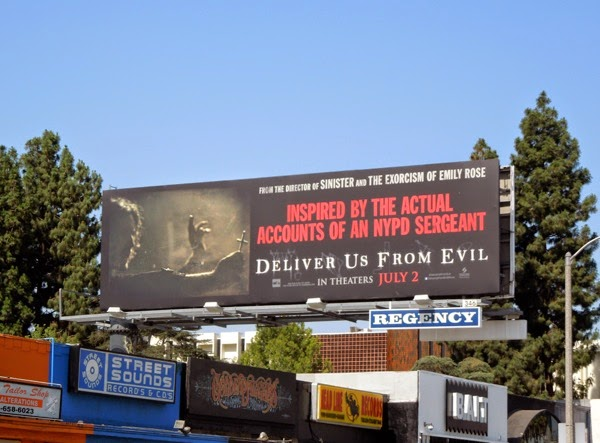 Deliver Us From Evil film billboard