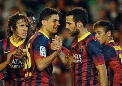 Xem lại đầy đủ trận Real Betis vs Barcelona
