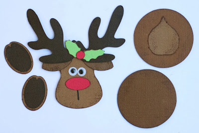 Reindeer hooves template reindeer favor tins burton