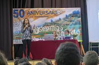 """ROSA HUERTAS EN EL IES """"CONSABURUM"""""""