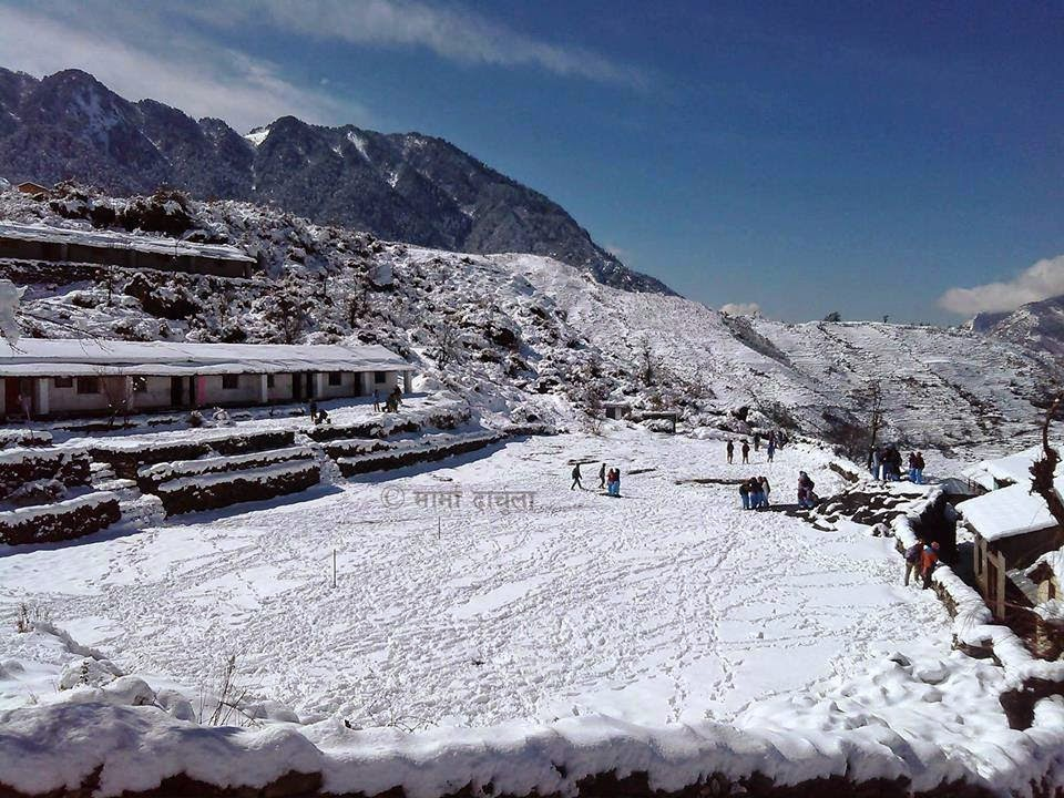 Snowfall in Darchula