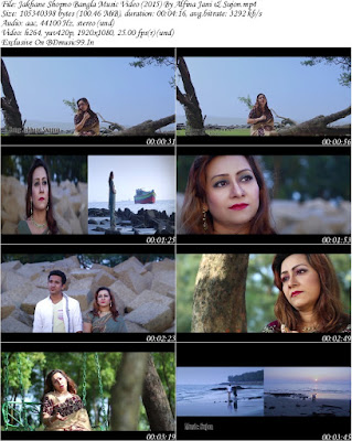 Jakhane Shopno Bangla Music Video (2015) By Alfina Jani & Sujon HD Download